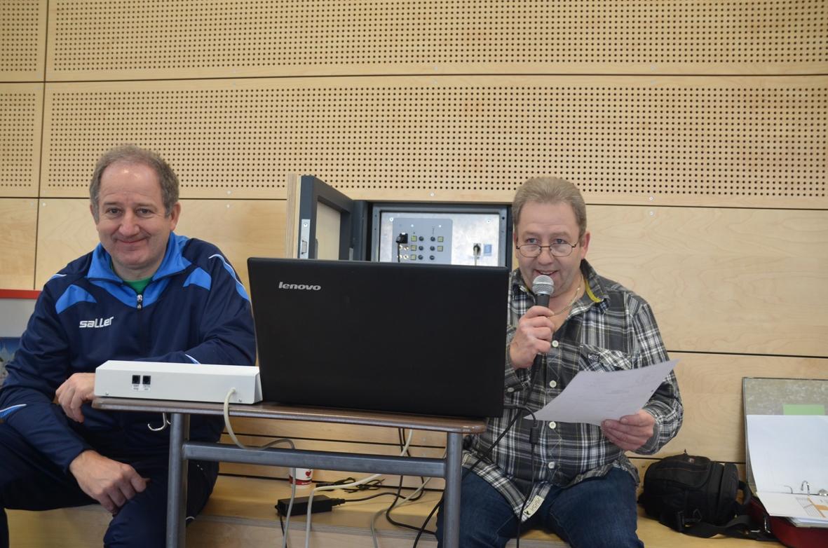 Turnierleitung - Martin Mihm und Thomas Hohmann