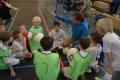 Mannschaftsbesprechung bei den F-Junioren